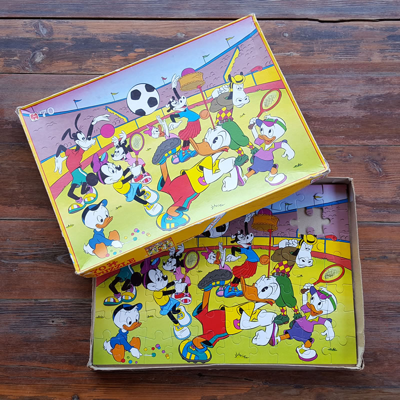 Vintage Walt Disney Puzzle Old Is The New New