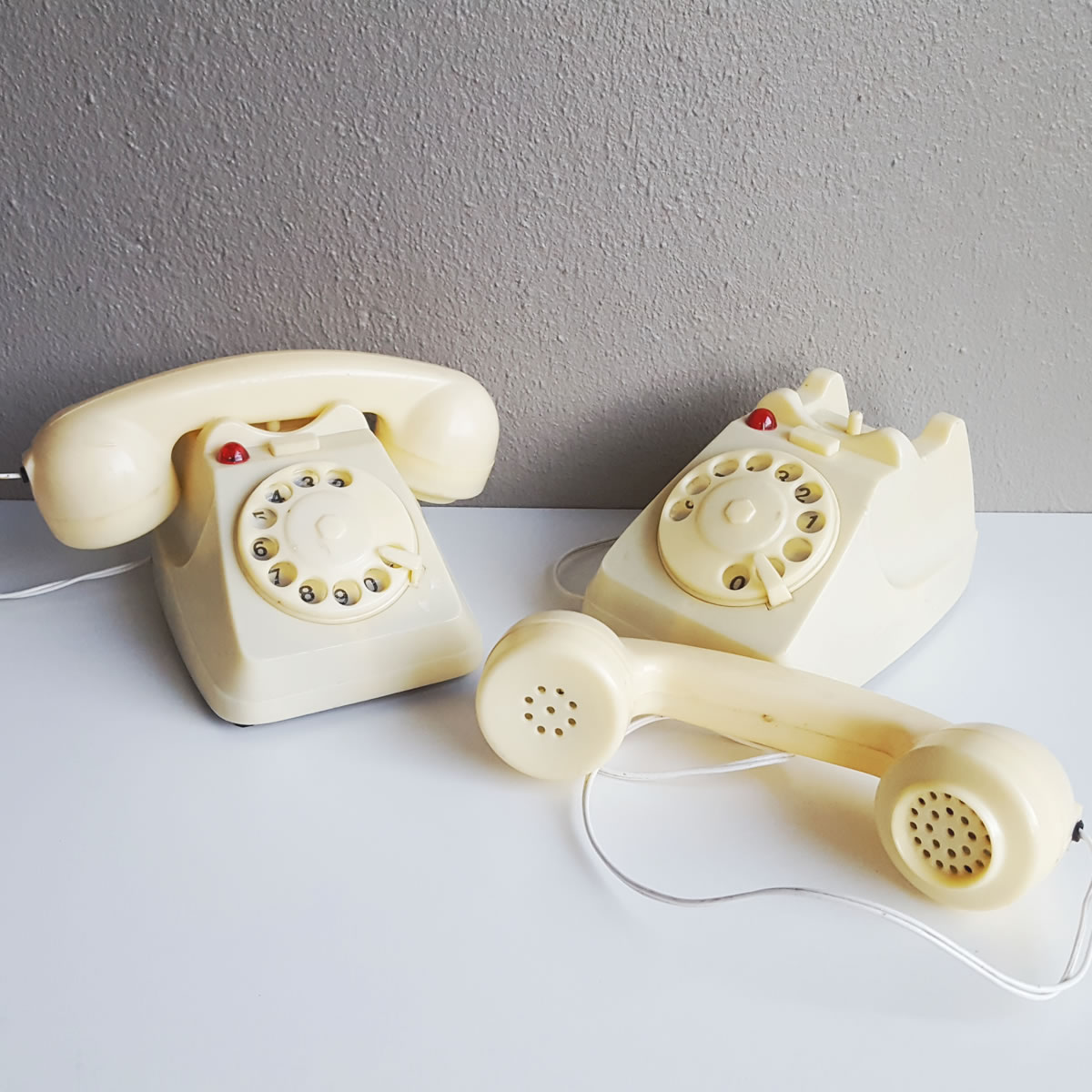 2 Vintage Rotary Phones Walkie Talkie | | Old is the new new