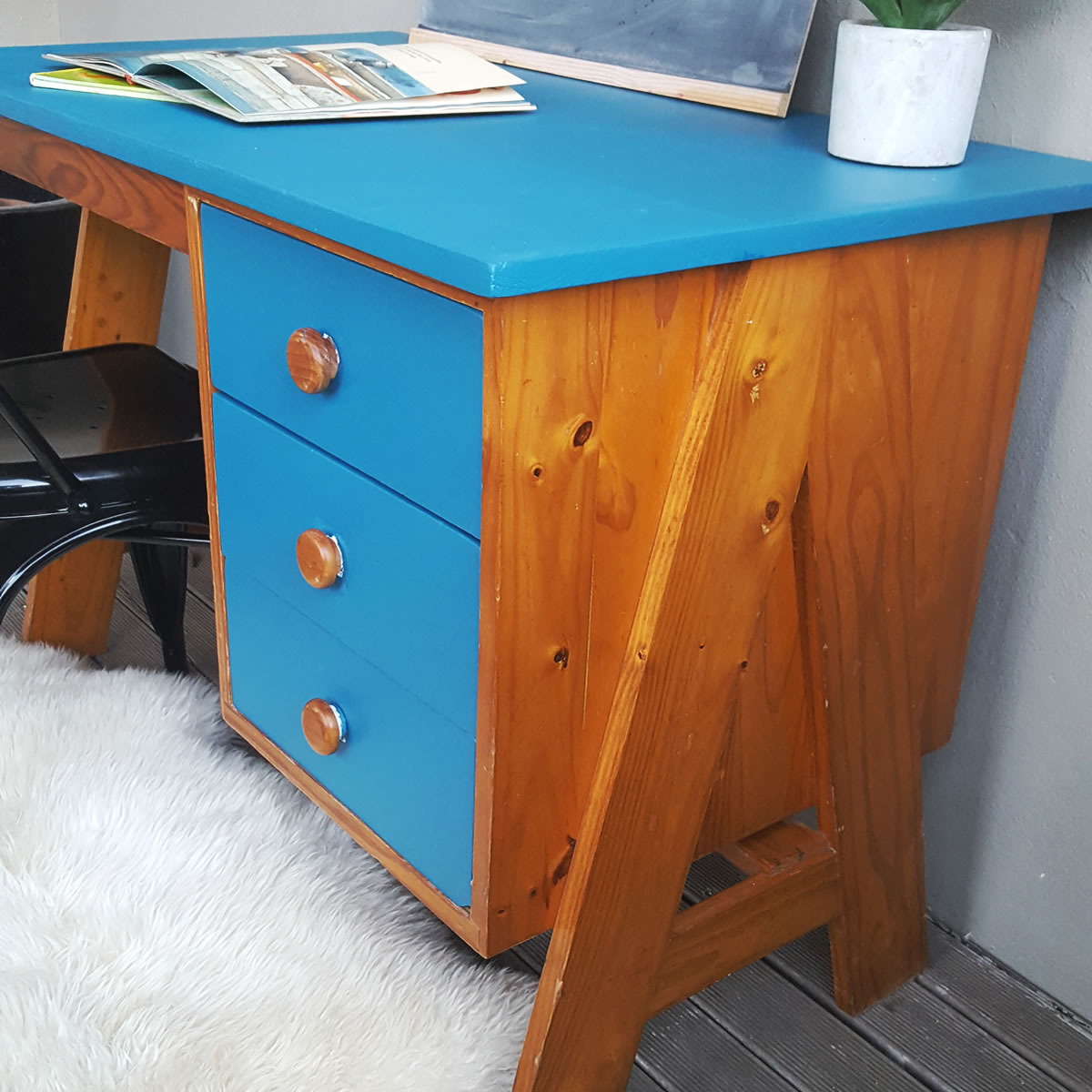 Oak Vintage Desk Old Is The New New