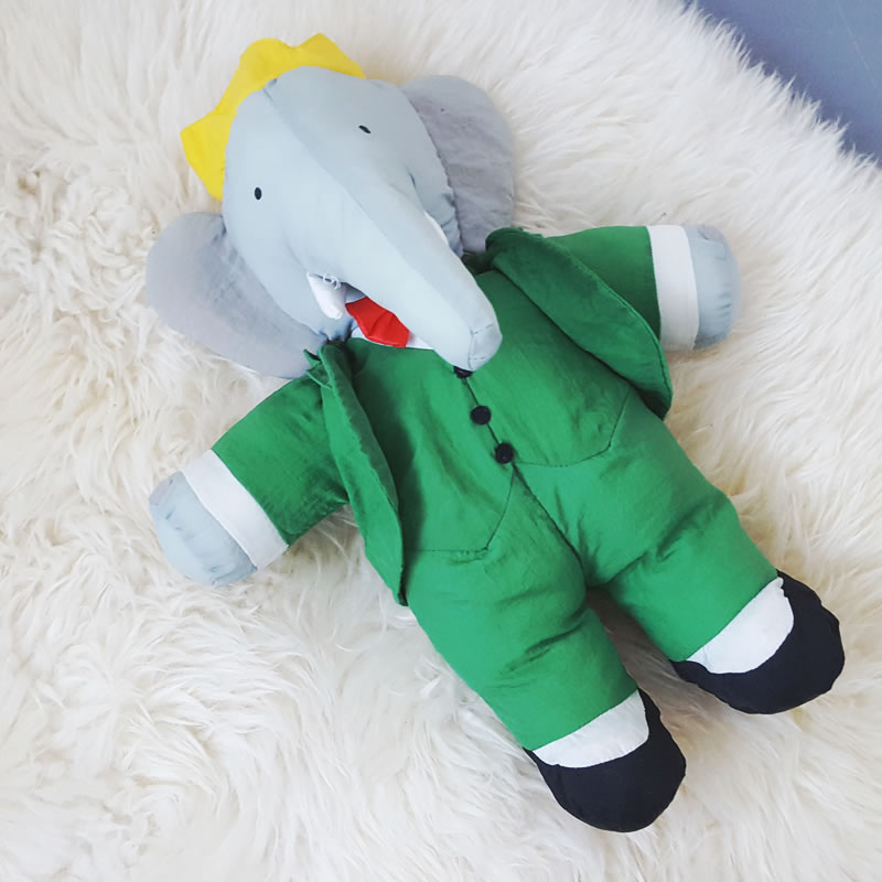 1983 Babar Soft Toy Old Is The New New
