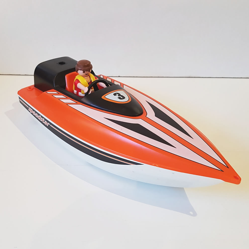 Playmobil Racing Boat #3399 | | Old is the new new