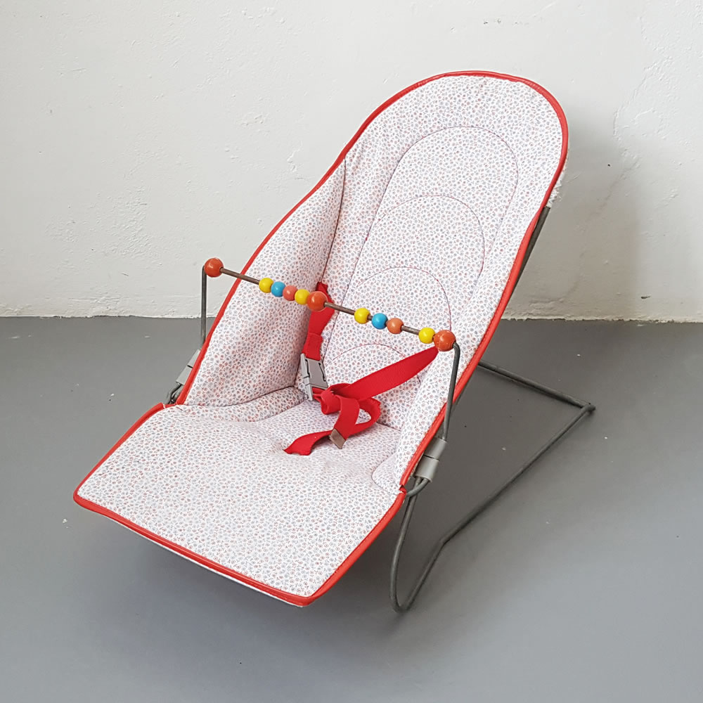 Retro Baby Bouncer Old Is The New New
