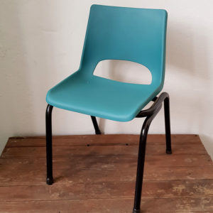 kids-school-chair-green-vintage-furniture-cape-town-1