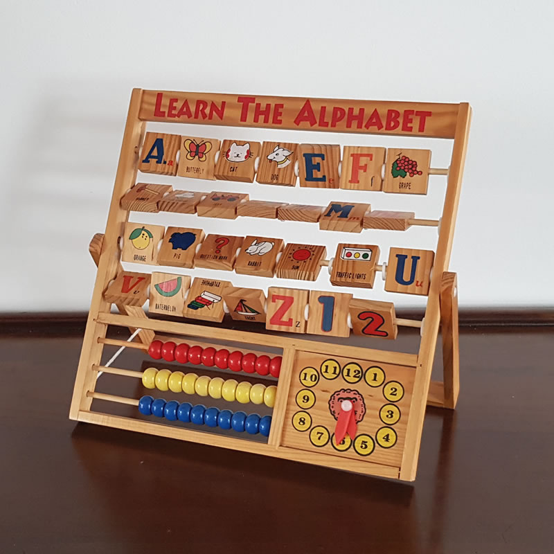 Retro Alphabet Name Learning Abacus | | Old is the new new