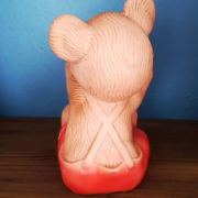 red-teddy-bear-pouet-vintage-toys-cape-town-2